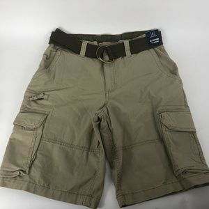 George Cargo Shorts with Belt